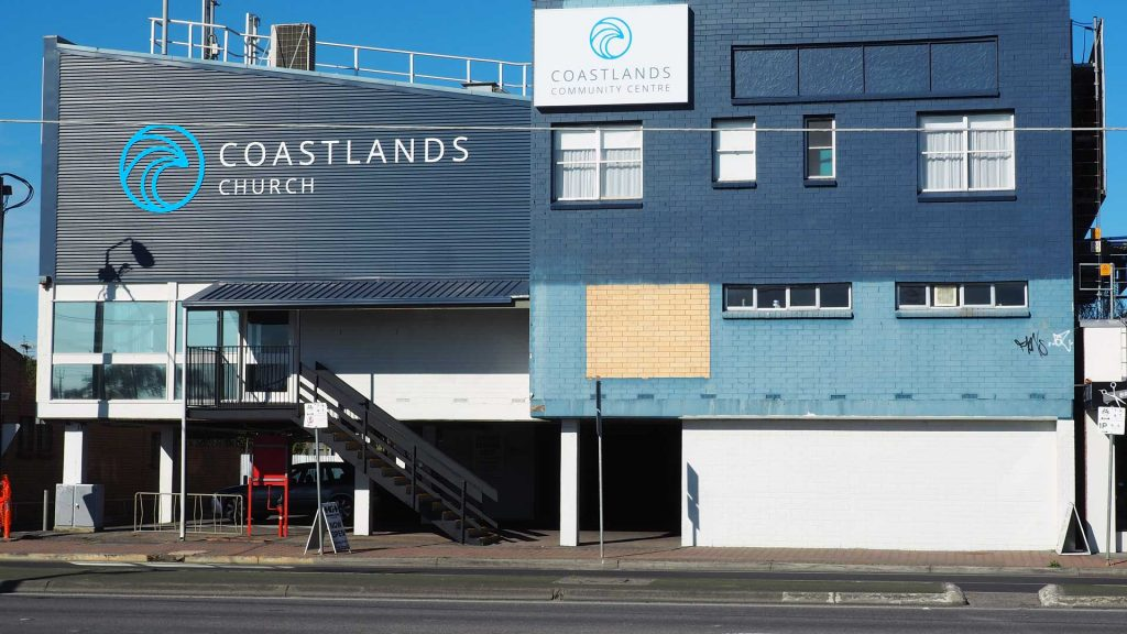 Coastlands Church Brighton New Signage
